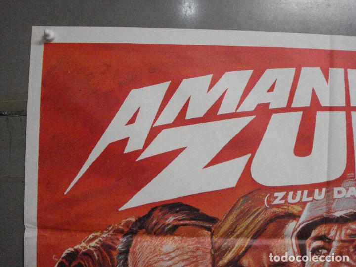 Cine: CDO 7431 AMANECER ZULU BURT LANCASTER PETER OTOOLE MAC POSTER ORIGINAL ESTRENO 70X100 - Foto 2 - 227866830