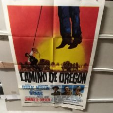 Cine: CAMINO DE OREGON KIRK DOUGLAS MITCHUM POSTER ORIGINAL 70X100 YY (2489). Lote 228000365