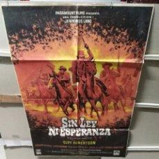 Cine: SIN LEY NI ESPERANZA POSTER ORIGINAL 70X100 YY (2493). Lote 228001470