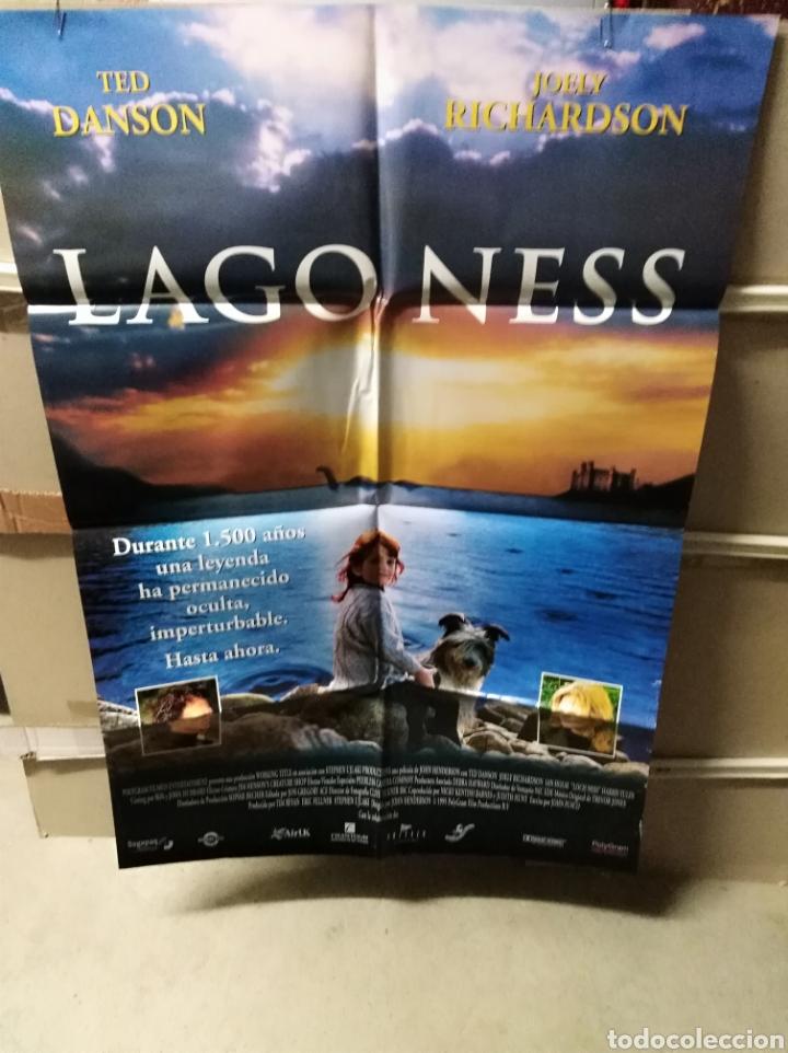 LAGO NESS TED DANSON POSTER ORIGINAL 70X100 YY (2489) (Cine - Posters y Carteles - Infantil)