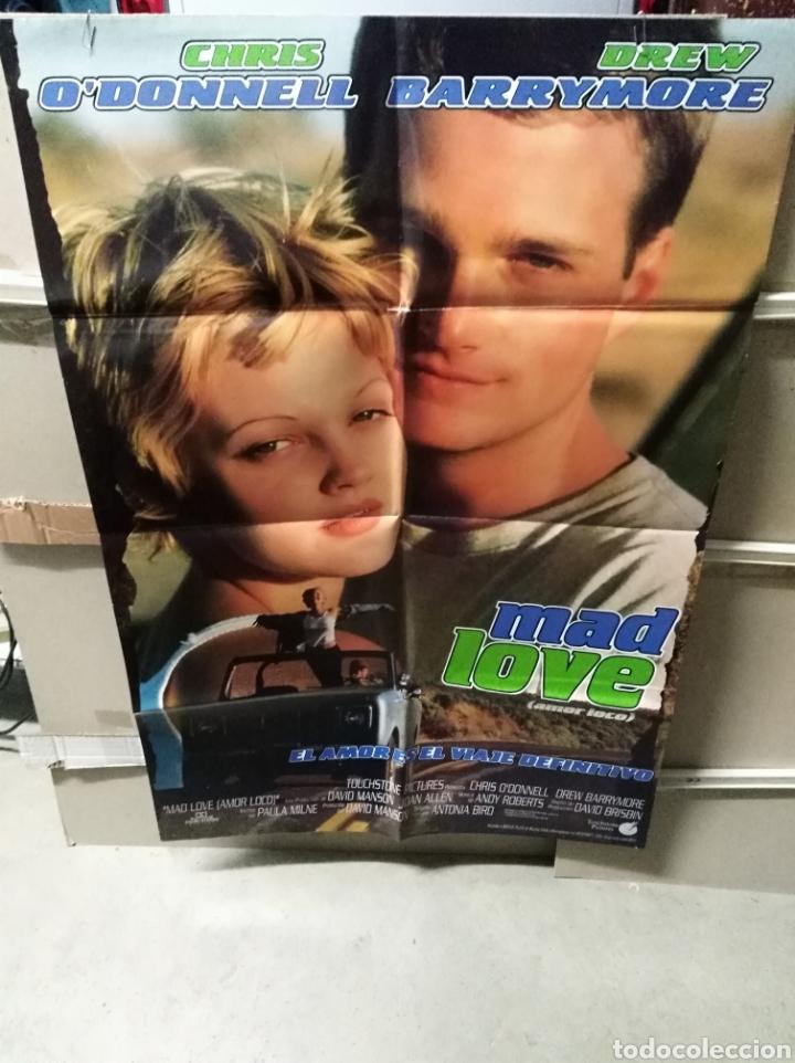 MAD LOVE DREW BARRYMORE POSTER ORIGINAL 70X100 YY (2490) (Cine - Posters y Carteles - Comedia)