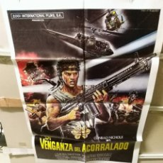 Cine: LA VENGANZA DEL ACORRALADO TONINO RICCI POSTER ORIGINAL 70X100 YY (2491). Lote 228005615