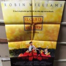 Cine: EL CLUB DE LOS POETAS MUERTOS ROBIN WILLIAMS POSTER ORIGINAL 70X100 YY (2493). Lote 228011115