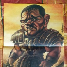 Cine: POSTER CARICATURA GLADIATOR (RUSSELL CROWE). Lote 228103535