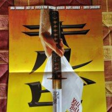 Cine: POSTER KILL BILL VOLUME 1 (TARANTINO). Lote 228108410