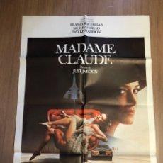Cine: CARTEL DE CINE MADAM CLAUDE 70X100CM. Lote 228248650