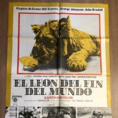 Cine: CARTEL DE CINE EL LEON DEL FIN DEL MUNDO 70X100CM. Lote 228251335
