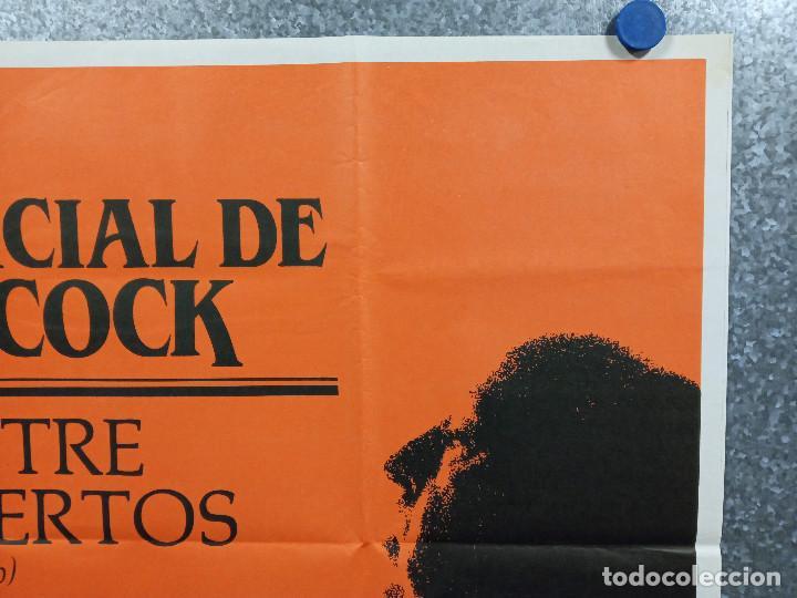 Cine: Vértigo (De entre los muertos) James Stewart, Kim Novak, Alfred Hitchcock. AÑO 1984. POSTER ORIGINAL - Foto 3 - 228478677