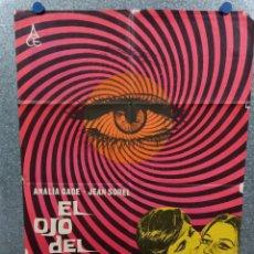 Cine: EL OJO DEL HURACÁN. ANALÍA GADÉ, JEAN SOREL, ROSANNA YANNI. AÑO 1963. POSTER ORIGINAL. Lote 269096878