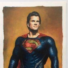 Cine: ORIGINAL SUPERMAN. HENRY CAVILL. COMIC. ILUSTRACIÓN ION ANDER.. Lote 228785878