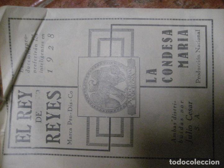 Cine: cartel pelicula ben hur cine tivoli .pagina doble de revista de 1928 en trasera publi rey de reyes - Foto 4 - 228897205