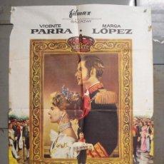 Cine: CDO 7567 DONDE VAS TRISTE DE TI VICENTE PARRA MARGA LOPEZ 70 M/M POSTER ORIGINAL ESPAÑOL 70X100 R-73. Lote 228925515