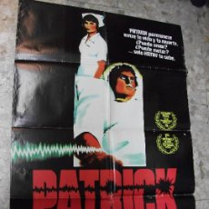 Cine: PATRICK 1979 CARTEL DE CINE 100 X 70 CM. POSTER TERROR. Lote 229016140