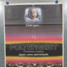 Cine: POLTERGEIST, FENOMENOS EXTRAÑOS. JOBETH WILLIAMS, CRAIG T. NELSON AÑO 1982. POSTER ORIGINAL.. Lote 262742210
