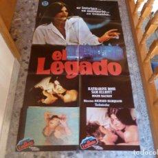 Cine: POSTER + COLECCION COMPLETA DE POSTALES DE LA MISMA PELICULA. Lote 229244010