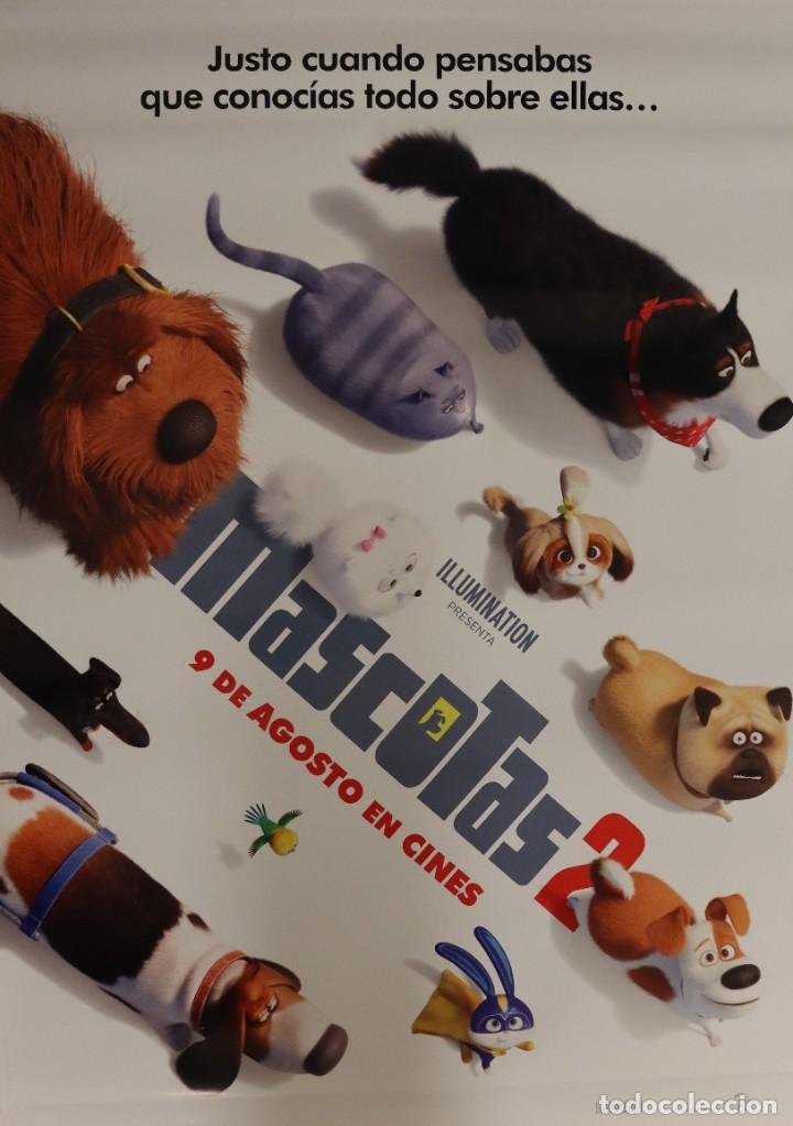 POSTER MASCOTAS 2 (Cine - Posters y Carteles - Infantil)