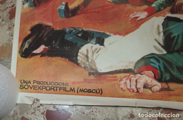 Cine: LA BATALLA DE BORODINO,3ªPARTE DE GUERRA PAZ,AÑO 1968 - Foto 2 - 229575130