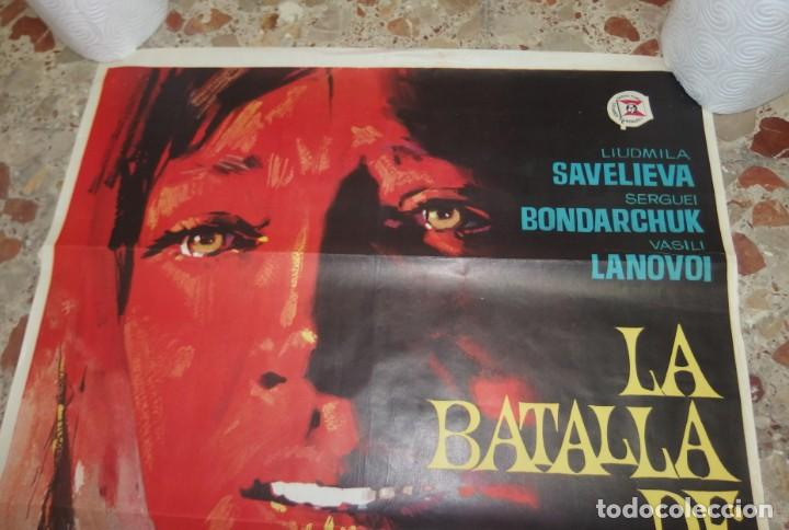 Cine: LA BATALLA DE BORODINO,3ªPARTE DE GUERRA PAZ,AÑO 1968 - Foto 5 - 229575130