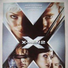 Cine: X-MEN 2, CON HUGH JACKMAN. PÓSTER 68 X 97,5 CMS. 2003.. Lote 297059718