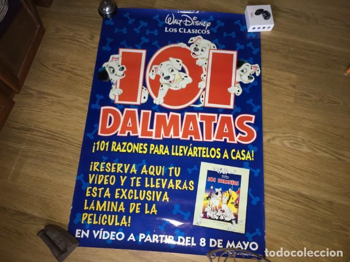 CARTEL POSTER 101 DALMATAS (Cine - Posters y Carteles - Infantil)