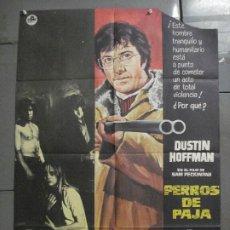 Cine: CDO 7716 PERROS DE PAJA SAM PECKINPAH DUSTIN HOFFMAN POSTER ORIGINAL 70X100 ESTRENO. Lote 230065470