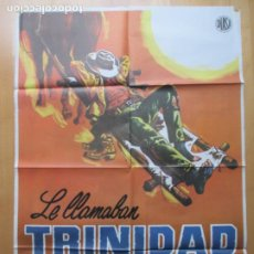 Cine: CARTEL CINE, LE LLAMABAN TRINIDAD, TERENCE HILL, BUD SPENCER, 1979, C1261. Lote 230202340