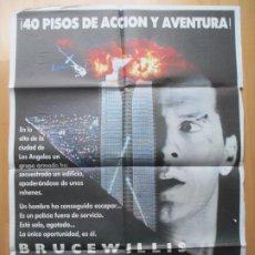 Cinema: CARTEL CINE LA JUNGLA DE CRISTAL BRUCE WILLIS 1988 C1947. Lote 230202670