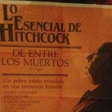 Cine: LO ESENCIAL DE HITCHOCK ENTRE LOS MUERTOS. Lote 230287830