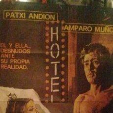 Cine: LA OTRA ALCOBA CARTEL ORIGINAL DE LA EPOCA-1976-AMPARO MUÑOZ PRIMER DESNUDO DEÑ CINE ESPAÑOL-. Lote 230288215