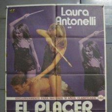Cine: CDO 7784 EL PLACER DE VENUS LAURA ANTONELLI SEXY EROTICO POSTER ORIGINAL 70X100 ESTRENO. Lote 230359115