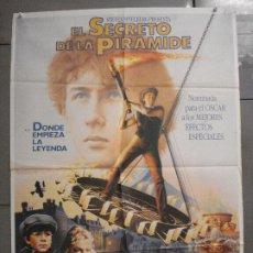 Cinema: CDO 7797 EL SECRETO DE LA PIRAMIDE SHERLOCK HOLMES SPIELBERG LEVINSON POSTER ORIGINAL 70X100 ESTRENO. Lote 230384200