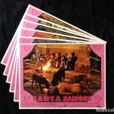 Cine: SANTA SANGRE- ALEJANDRO JODOROWSKY - LOBBY CARDS. Lote 253725795