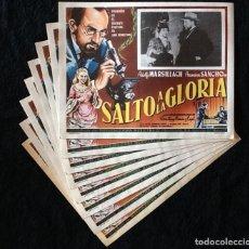 Cine: SALTO A LA GLORIA - LEÓN KLIMOVSKY - ADOLFO MARSILLACH - LOBBY CARDS. Lote 230626630