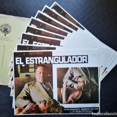 Cine: EL ESTRANGULADOR - SKETCHES OF A STRANGLER - LOBBY CARDS. Lote 230628600