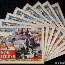 Cine: SOR CITROEN - PEDRO LAZAGA - GRACITA MORALES, JOSÉ LUIS LÓPEZ VÁZQUEZ, JUANJO MENÉNDEZ - LOBBY CARDS. Lote 230662600