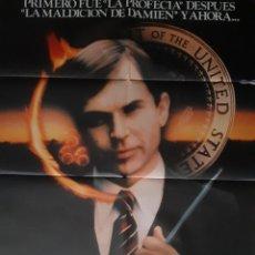 Cinema: CARTEL CINE EL FINAL DE DAMIEN SAM NEILL 1981 ILUSTRA HP A 184. Lote 230818645