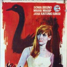 Cine: EL JUEGO DE LA OCA. SONIA BRUNO-SUMMERS. CARTEL ORIGINAL 1965. 70X100. Lote 230835765
