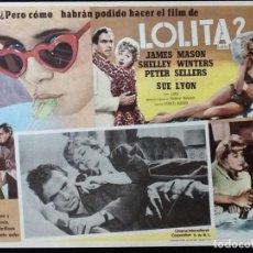 Cine: LOLITA - LOBBY CARD - 1962. Lote 230862600