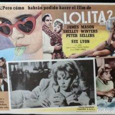 Cine: LOLITA - LOBBY CARD - 1962. Lote 230862785