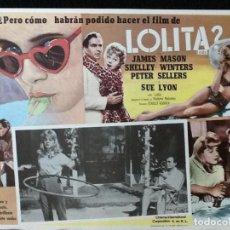 Cine: LOLITA - LOBBY CARD - 1962. Lote 230863050
