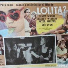 Cine: LOLITA - LOBBY CARD - 1962. Lote 230863235