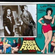 Cine: LOLA FLORES - CASA FLORA - LOBBY CARD 1973. Lote 230863670