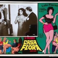 Cine: LOLA FLORES - CASA FLORA - LOBBY CARD 1973. Lote 230863740