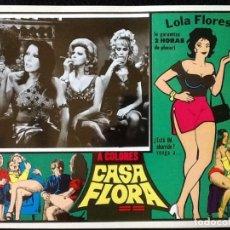 Cine: LOLA FLORES - CASA FLORA - LOBBY CARD 1973. Lote 230863790