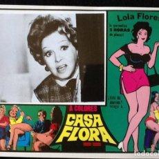 Cine: LOLA FLORES - CASA FLORA - LOBBY CARD 1973. Lote 230863810