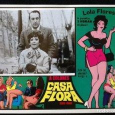 Cine: LOLA FLORES - CASA FLORA - LOBBY CARD 1973. Lote 230863870