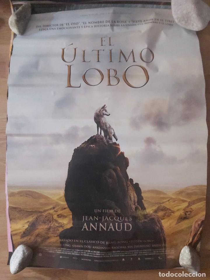 EL ÚLTIMO LOBO - APROX 70X100 CARTEL ORIGINAL CINE (L77) (Cine - Posters y Carteles - Documentales)