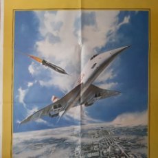 Cinema: CARTEL CINE AEROPUERTO 80 ALAIN DELON 1979 A 189. Lote 230980535