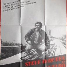 Cine: CARTEL CINE CAZADOR A SUELDO STEVE MCQUEEN 1980 A 194. Lote 283719008