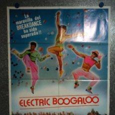 Cine: BREAKDANCE 2: ELECTRIC BOOGALOO. LUCINDA DICKEY, ADOLFO QUINONES AÑO 1980. POSTER ORIGINAL. Lote 231188650